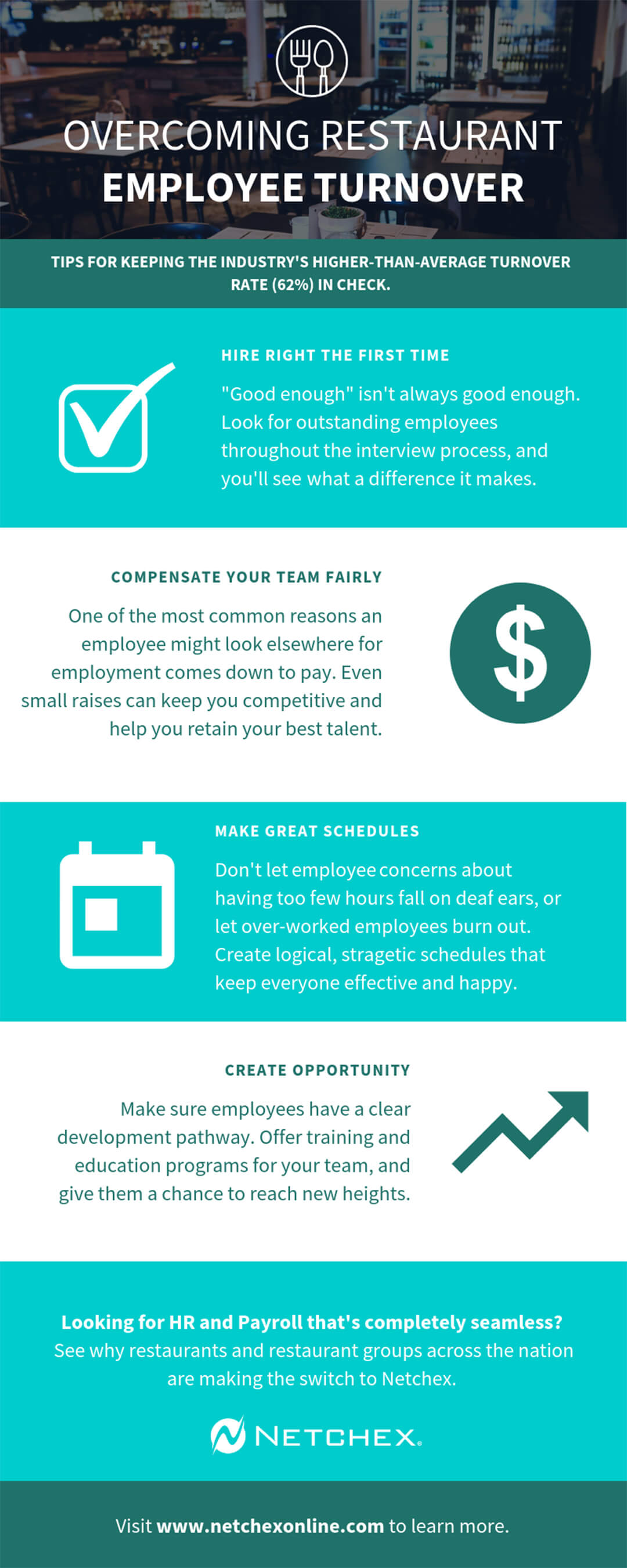 Infographic: Overcoming Restaurant Employee Turnover
