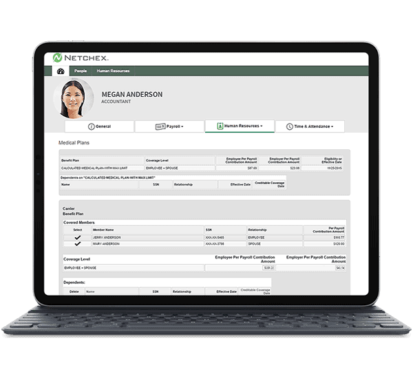 Netchex Benefits Administration Software